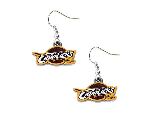 NBA Cleveland Cavaliers Logo Dangle Earrings Charm Gift Set