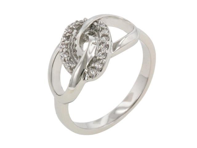 J Goodin Women Fashion Jewellery Sparkling Unity Ring Size 8