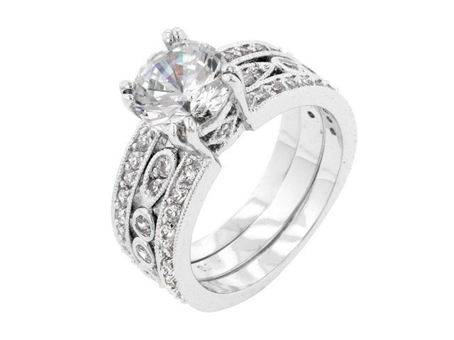 J Goodin Women Fashion Jewellery Eleanor Wedding Ring Size 10