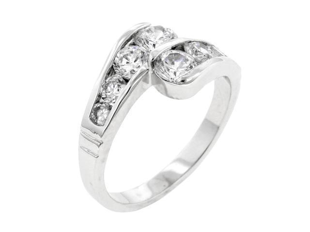 J Goodin Women Fashion Jewellery Timeless Curve Ring Size 8