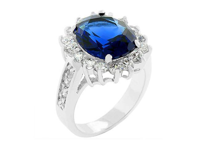 J Goodin Blue Cambridge Elegance Ring Size 5