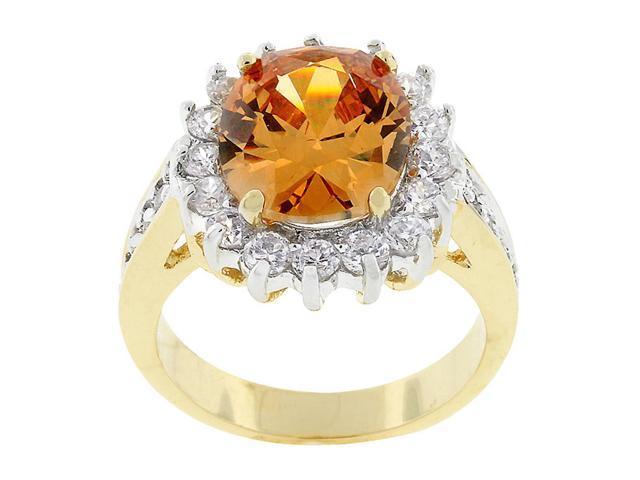 J Goodin Champagne Cambridge Elegance Ring Size 8