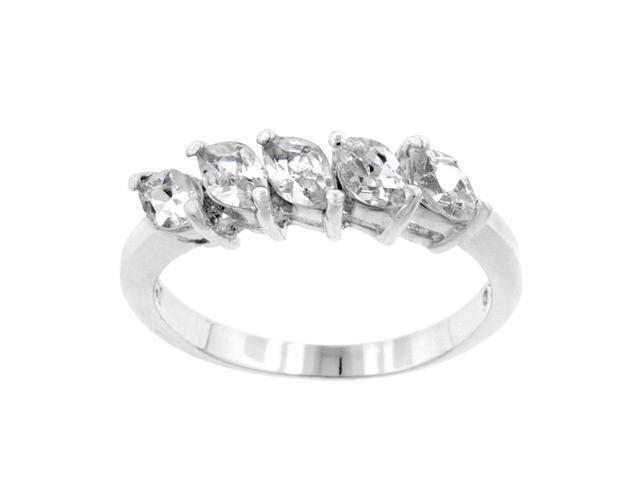 J Goodin Paris 5-Stone Ring Size 9