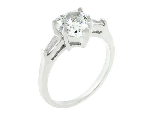 J Goodin Heart Triplet Ring Size 7