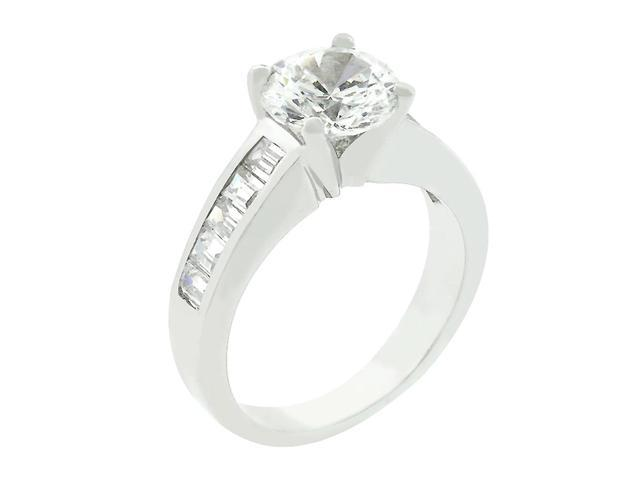 J Goodin Classic Baguette Anniversary Ring Size 10