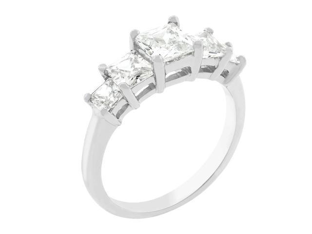 J Goodin 5-Stone Anniversary Ring Size 5