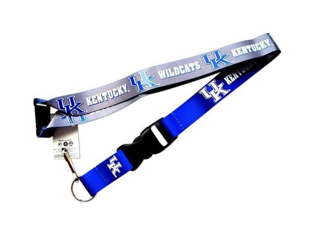 Kentucky Wildcats Reversible Clip Lanyard Keychain Id Ticket Holder