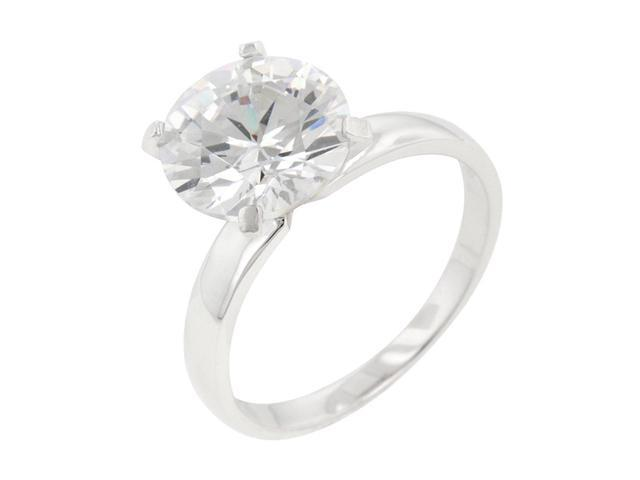 J Goodin Timeless Solitaire Engagement Ring Size 8