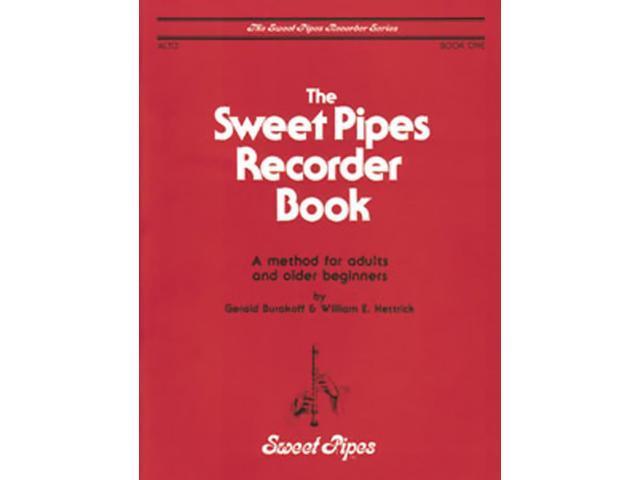 Rhythm Band Sweet Pipes Recorder Bk 1 Alto