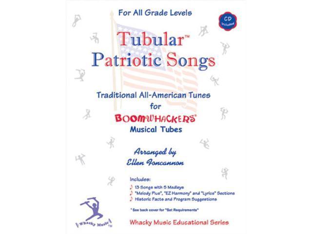 Rhythm Band Tubular Patriotic Songs With Cd