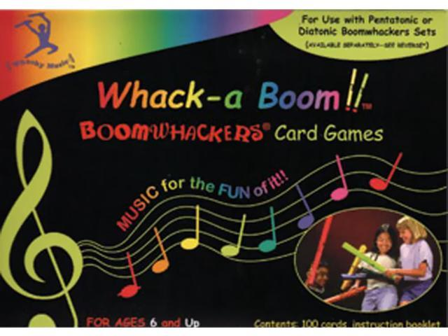 Rhythm Band Whack A Boom Card Game