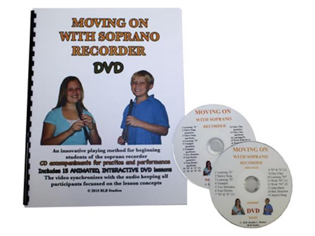 Rhythm Band Moving On With Soprano Recorder With Dvd Cd