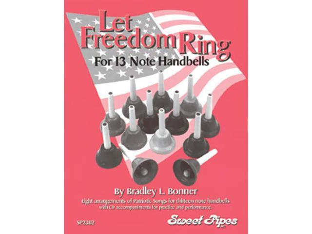 Rhythm Band Let Freedom Ring 13 Note Handbells