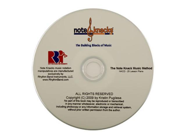 Rhythm Band Note Knacks Lesson Plans Cd