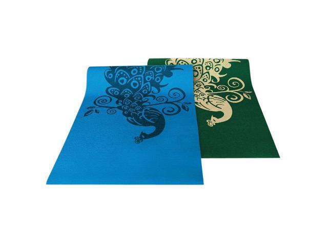 Wailana Yoga And Pilates Mats Himalaya Blue