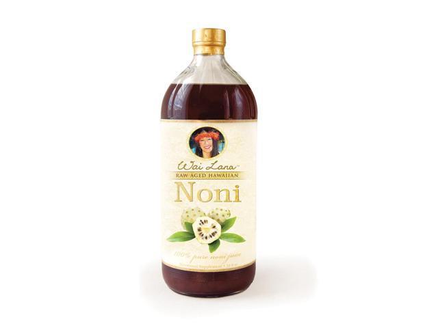 Wailana 100% Pure Raw Aged Hawaiian Noni Juice 32 Oz