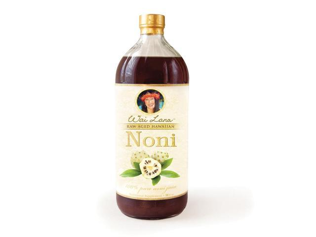 Wailana 100% Pure Raw Aged Hawaiian Noni Juice 16 Oz