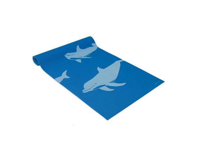 Wailana Dolphins Yogi Mat Blue