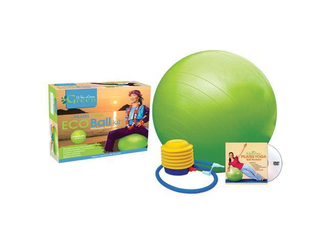 Wailana Pilates Yoga Eco Ball Kit With DVD Small 22