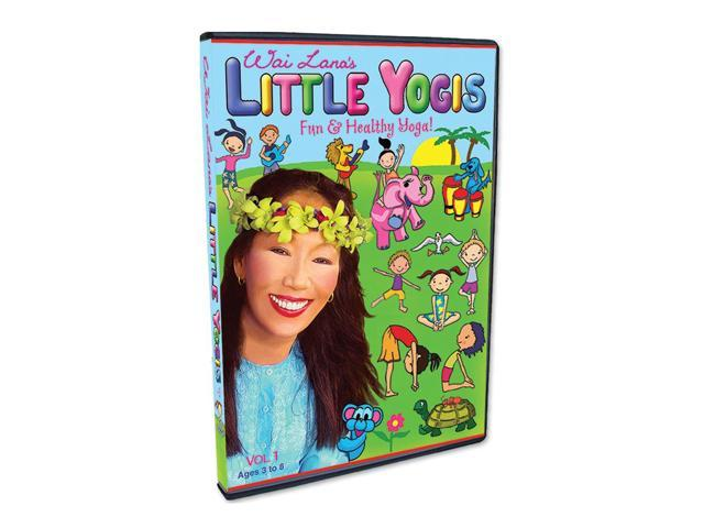Wailana Wai Lana's Little Yogis DVD Vol. 1