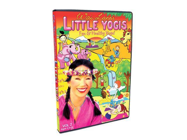 Wailana Wai Lana's Little Yogis DVD Vol. 2