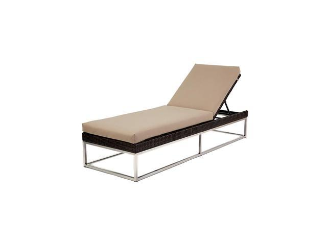 Caluco Mirabella Single Chaise WFD 001 Dark Java