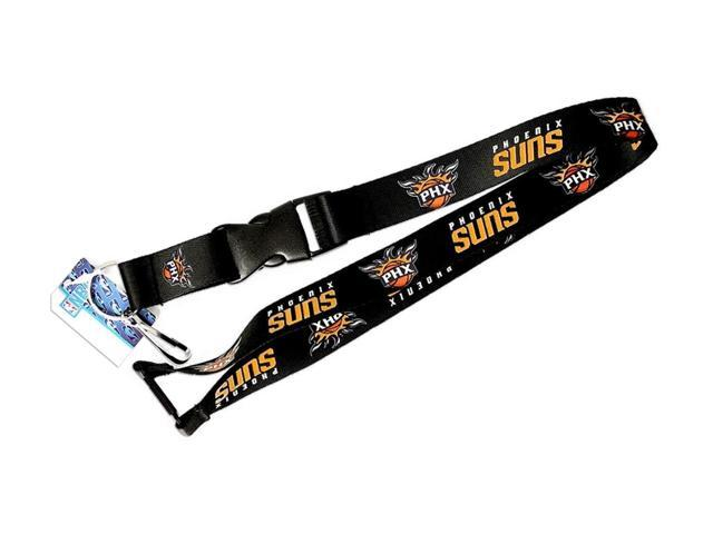 NBA Phoenix Suns Clip Lanyard Keychain Id Holder Ticket - Black