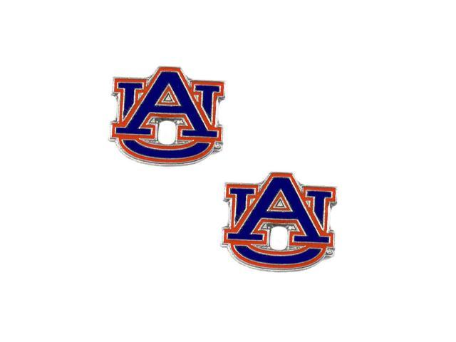 Auburn Tigers Post Stud Logo Earring Set Charm Gift NFL