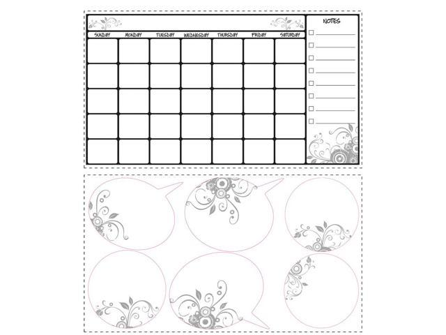 Calendar May Sia : Roommates decor stickers dry erase calendar wall decals