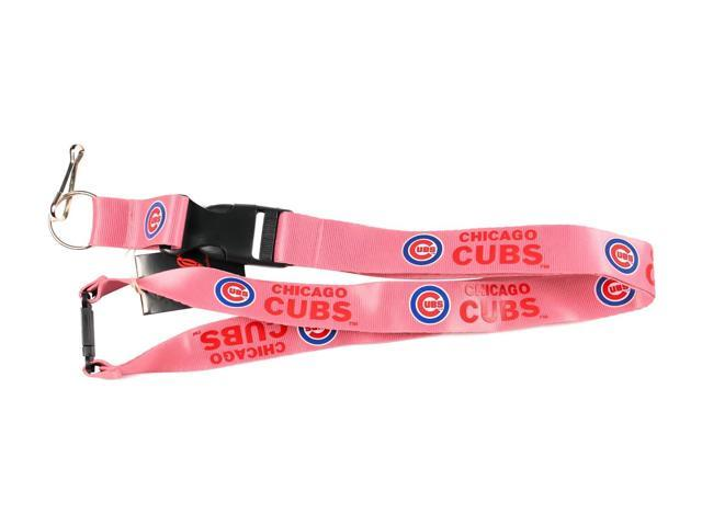 Chicago Cubs Clip Lanyard Keychain Holder Ticket - Pink