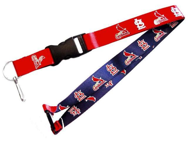 St Louis Cardinals Reversible Clip Lanyard Keychain Holder