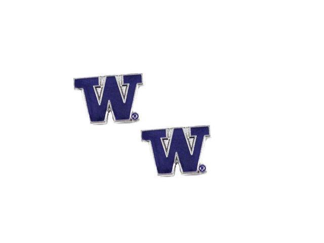 Washington Huskies Post Stud Logo Earring Set Charm Gift NFL