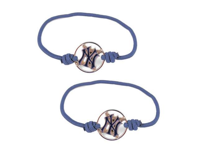 New York Yankees - MLB Stretch Bracelet / Hair Ties (Set of 2)