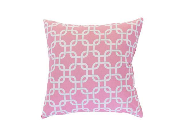 Majestic Home Goods Decorative Soft Pink Links Pillow Extra Large - Newegg.ca