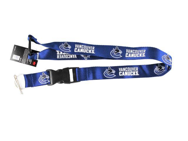 Vancouver Canucks Lanyard Keychain Id Holder Ticket