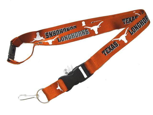 Texas Longhorns Clip Lanyard Keychain Id Holder Ticket