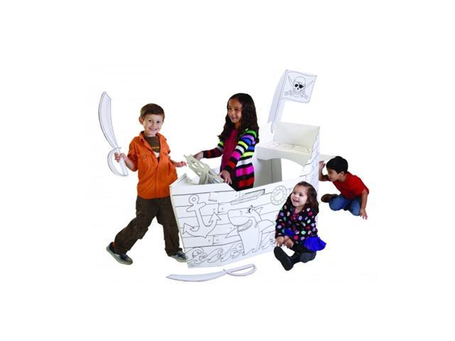 My Very Own House Kids Preschool Children Activity Indoor Outdoor Creative Painting Drawing Holidays Fun Pirate Ship