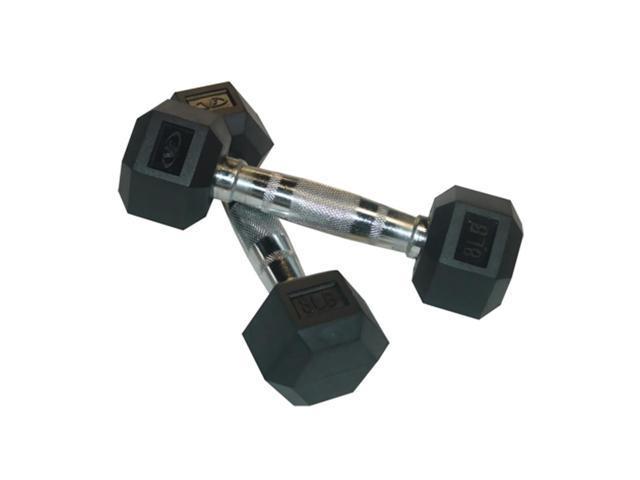Valor Fitness 8 Lb Dumbbell (Pair)