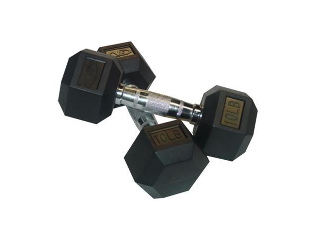 Valor Fitness 10 Lb Dumbbell (Pair)