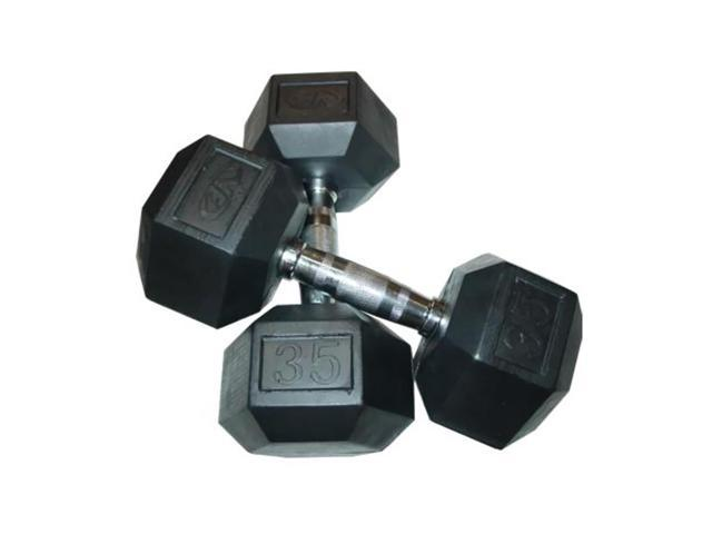 Valor Fitness 35lb Dumbbell (Pair)