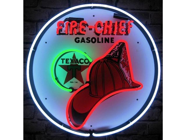 Neonetics Texaco fire chief neon sign - Newegg.ca