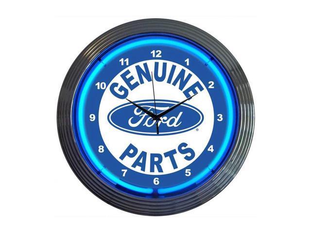Neonetics Ford genuine parts neon clock - Newegg.com