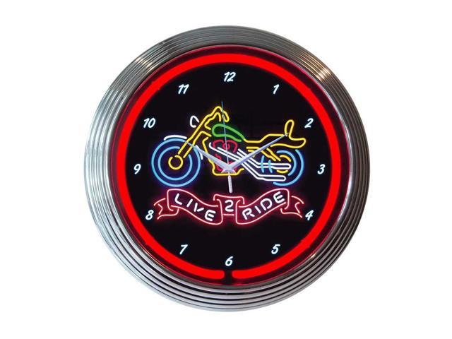 Neonetics Live 2 ride neon clock - Newegg.ca