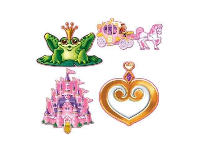 Beistle Home Decorations Party supply Princess Cutouts 12