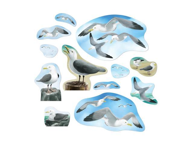 Beistle Home Decorations Party supply Seagull Cutouts 3.5
