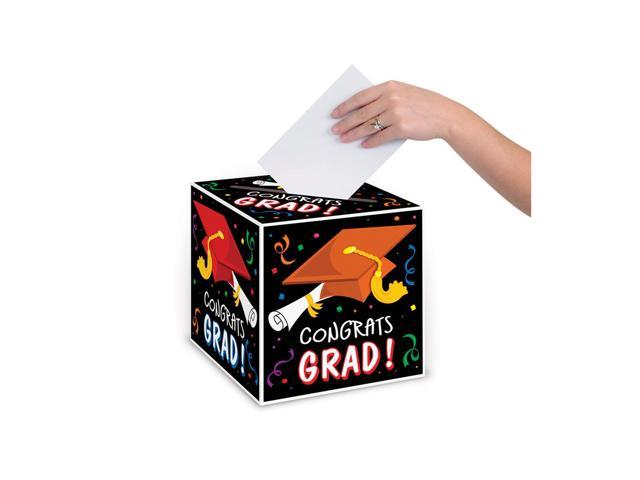 Beistle Home Decorations Party supply Congrats Grad Card Box 9