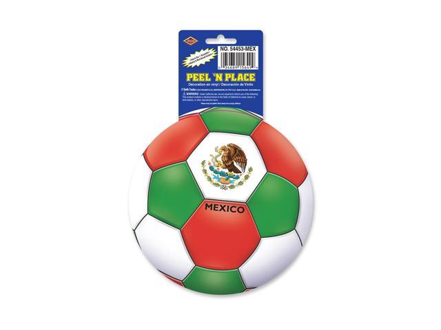 Beistle Home Decorations Party supply Peel 'N Place - Mexico 5.25