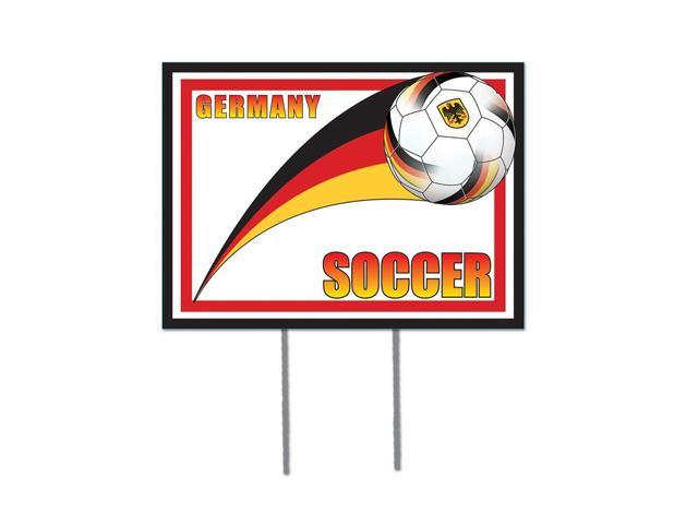 Beistle Home Decorations Party supply Plastic Yard Sign - Germany 12
