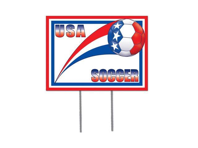 Beistle Home Decorations Party supply Plastic Yard Sign - United States 12