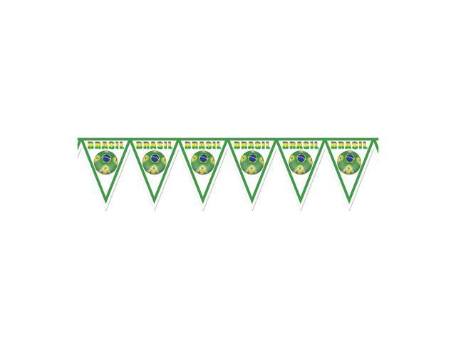 Beistle Home Decorations Party supply Pennant Banner - Brasil 11